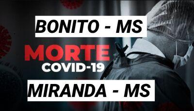Bonito confirma mais 01 óbito e Miranda mais 02, confira o boletim do coronavírus das últimas 24h