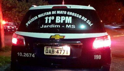 JARDIM: Homem é preso após incendiar carro por dívida de R$ 50