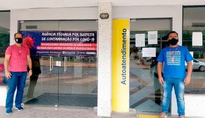 Após cobrança do sindicato, agência Banco do Brasil é fechada por conta do coronavírus em Bonito