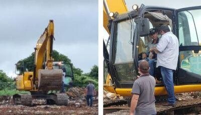 Prefeito visita 'lixão' e estuda local para construção de guarita e instalação de cercas em Bonito