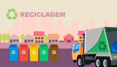 Confira a rota semanal da coleta seletiva de material reciclável que começa segunda-feira em Bonito