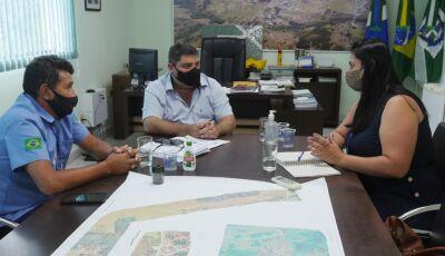 Em reunião com a Sanesul, prefeito quer projeto em conjunto para não faltar mais água em Bonito (MS)