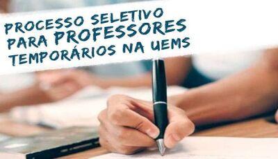 UEMS abre inscrições para a seleção de professor temporário para curso de Medicina