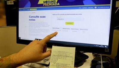 Sortudo que ganhou R$ 100 mil no Nota MS Premiada ainda não sacou o prêmio, veja se foi você