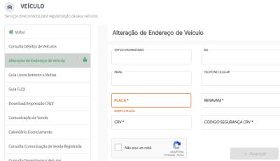 Detran Digital: proprietários de veículos e condutores agora devem atualizar endereços pela internet