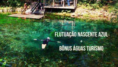 Flutue nas águas cristalinas da Nascente Azul e ganhe bônus especial com a Agência Águas em Bonito