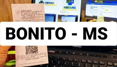 BONITO, Jardim, Guia Lopes e Miranda tiveram sortudos do Nota MS Premiada, CONFERE AÍ