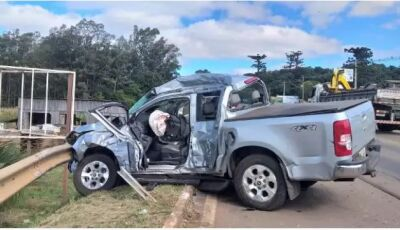 Morador de cidade de MS morre em acidente envolvendo caminhão no RS