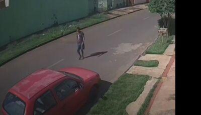 VÍDEO: Ladrão leva Gol em menos de um minuto em MS