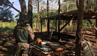 Empresário é multado em R$ 10 mil por construção em área protegida em córrego em Bonito (MS)
