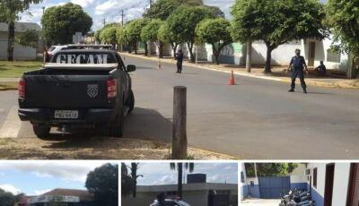Durante blitz, polícia recolhe 11 motos, autua 07 condutor sem CNH em Bonito (MS)
