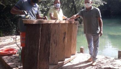 Balneário Municipal recebeu mutirão de limpeza e manutenção, tudo pronto para o turista em Bonito