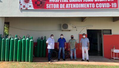 Hospital Darci João Bigaton amplia 20 leitos de internação para atendimento de pacientes com Covid
