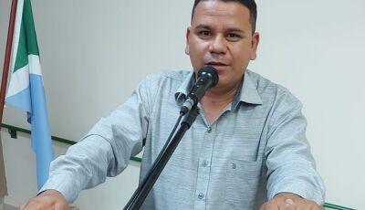 BONITO: Vereador Pedrinho da Marambaia solicita a retomada da obra da Ceinf do Bom viver