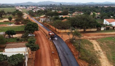 BONITO: Pavimentação da Rodovia do Turismo avança e será concluída em julho