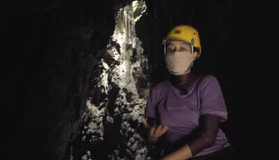 ASSISTA: Daniela Filomeno exibe reportagem feita no Abismo de Anhumas em Bonito (MS)