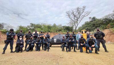Policiais Militares e Guardas Municipais realizam instrução de tiro policial em Bonito