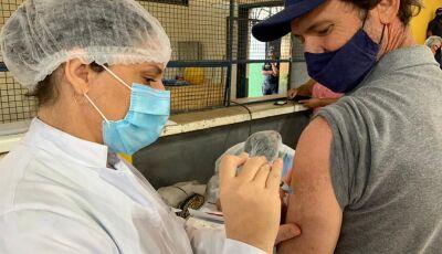 COVID: Partir de 44 anos, 12 anos com comorbidades e outros podem vacinar neste sábado em Bonito