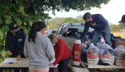 Assentamento Guaicurus: 41 cestas básicas foram entregues as famílias em situação de vulnerabilide