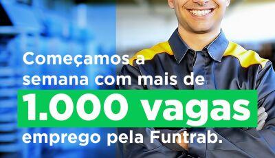 EMPREGO: Semana começa com 1.029 vagas em 28 cidades de Mato Grosso do Sul, confira