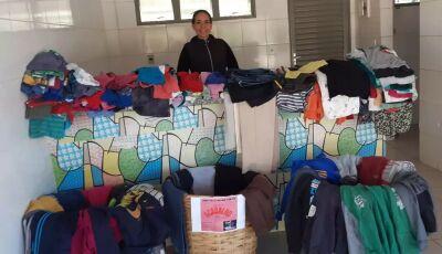 Quer um agasalho?, ou fazer uma doação entre em contato com o Projeto Movimente-se em Bonito (MS)