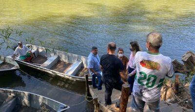 Prefeito conversa com moradores para execução de futuras obras e projetos no Águas do Miranda
