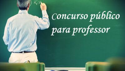 Governo de MS abre novo concurso para professores