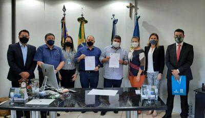 Prefeitura estabelece parceria com a UFMS para cessão de uso de espaço físico da unidade de Bonito