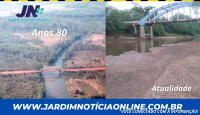 Rio Miranda sofre com assoreamento e corre risco de 'secar'