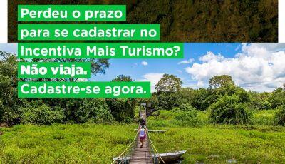 Governo reabre inscrições do Programa 'Incentiva+MS Turismo' de R$ 1 mil para guias de turismo