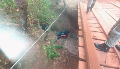 Morre piloto de quadriciclo que caiu de ponte