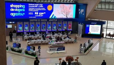 Durante 45 dias, MS promove turismo no evento Shopping de Viagens Agaxtur em SP
