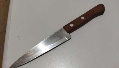Mulher é agredida em discussão e desfere golpe de faca no órgão genital do companheiro
