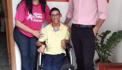Jornalista Geraldo Junior do Programa SEM LIMITES é associado a coragem, força e ousadia