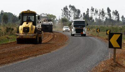 Com atenção a drenagem e meio ambiente, Estado reconstrói a MS-382, a Rodovia do Ecoturismo