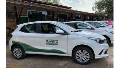 BONITO 73 ANOS: Prefeitura entrega 7 carros 0km para renovar frota e fortalecer ações e serviços