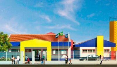 Prefeitura licita construção de Escola Infantil na Marambaia que atenderá até 224 crianças em Bonito