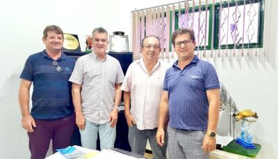 Prefeito de Bonito recebe visita do prefeito de Corupá (SC)