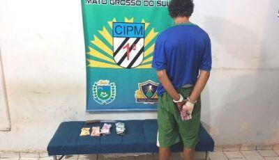 Polícia Militar prende autor de furto em supermercado de Bonito