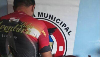 Guarda Municipal prende autor de furto e recupera objeto furtado em Bonito (MS)