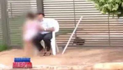 Idoso é flagrado abusando de criança de 5 anos em Dourados