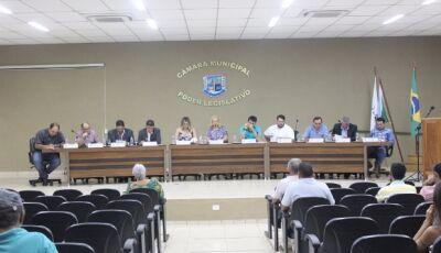Confira o trabalho dos vereadores durante sessão ordinária da Câmara em Bonito (MS)