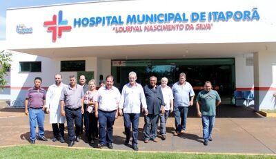 Geraldo Resende abraça causa pela ampliação e revitalização do Hospital de Itaporã
