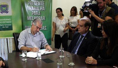 Reinaldo Azambuja autoriza concurso com 170 vagas para peritos da Polícia Civil