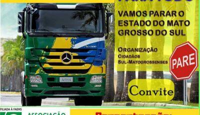 Associação Comercial convoca empresários e população para manifestação hoje em Bonito (MS)