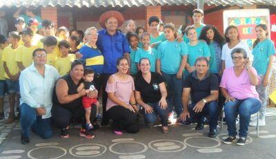 Bonito (MS): Distrito Águas do Miranda tem apresentação de poesia de cordel