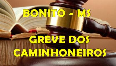 Bonito (MS): Liminar com multa diária de R$ 100 mil e escolta policial garantem entrada de caminhões