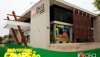Neste sábado é dia de tomar café na OKA e saber mais da promoção de aniversário de 04 anos em Bonito