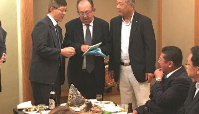 Bonito (MS) no Japão: Prefeito e secretário de Turismo fazem viagem oficial ao Japão