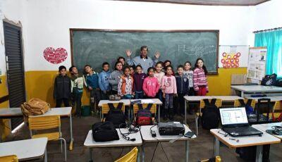 Secretaria realiza palestra na Escola Manoel Inácio de Farias